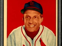 Stan Musial baseball rookie card
