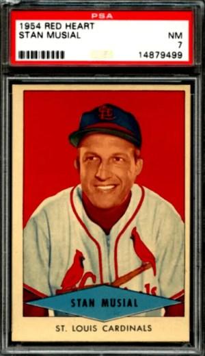 Stan Musial baseball card