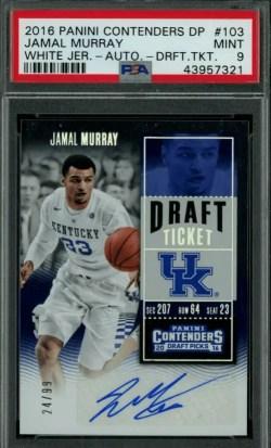 Jamal Murray Rookie Card Value