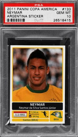 Neymar Rookie Card Checklist