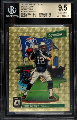 top 5 most valuable tom brady cards