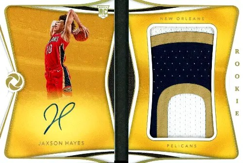 2019 Panini Opulence Basketball Checklist Rookie Patch Autographs