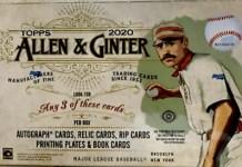 2020 Topps Allen & Ginter Baseball Card Box