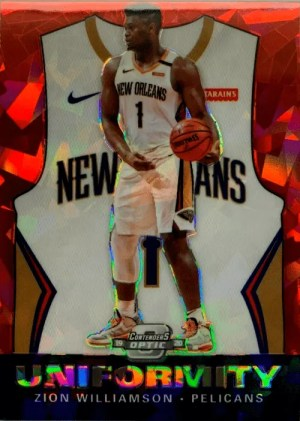2019-20 Panini Contenders Optic Basketball Hobby Box