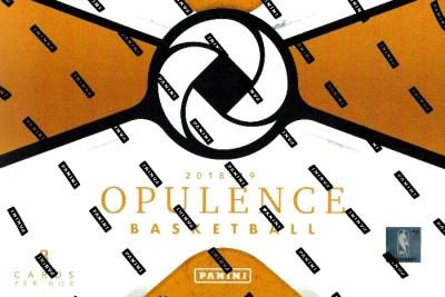 2018-19 Panini Opulence Basketball Card Checklist
