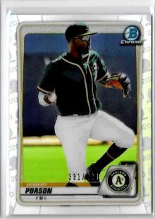 2020 Bowman Chrome Baseball Robert Puason 173