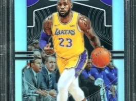 LeBron James LA Lakers Basketball Cards