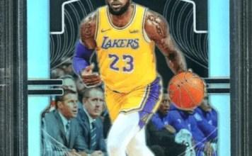 LeBron James LA Lakers Basketball Cards