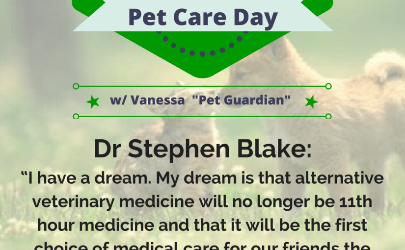 (Inter)National Holistic Pet Care Day – August 30th