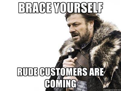 The Idea of The RUDE Customer