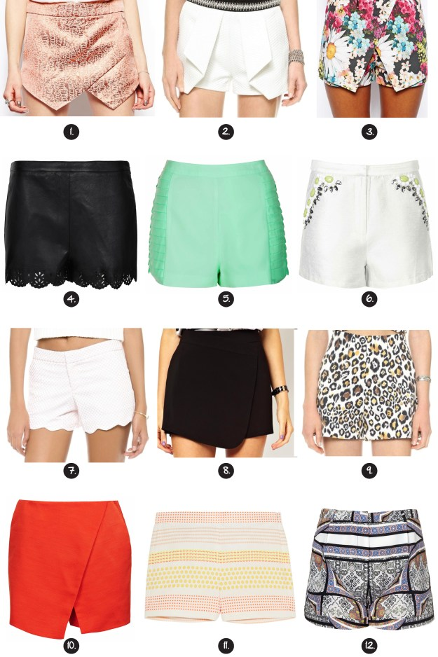 shorts and skorts