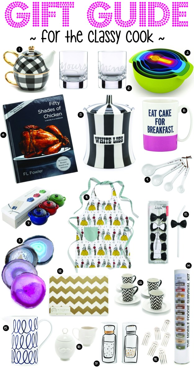 for the classy cook gift guide