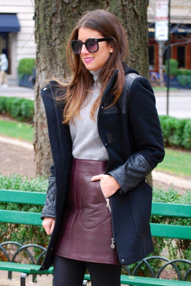 gap leather skirt11
