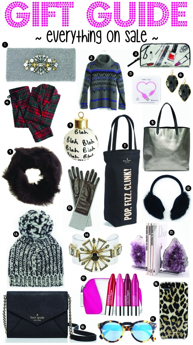 gift guide everything on sale