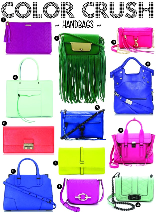 color crush handbags