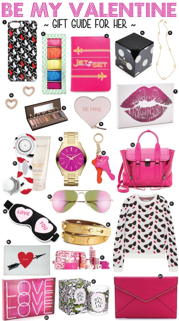 be my valentine gift guide for her