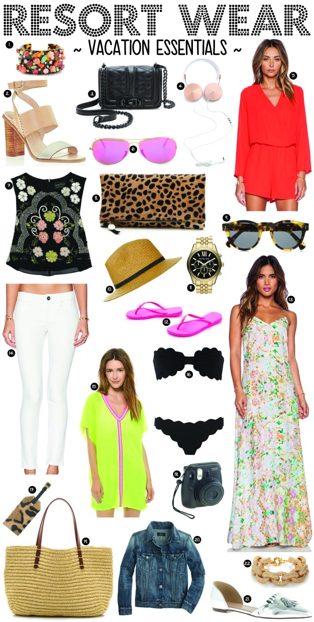 resort wear vacation essentials