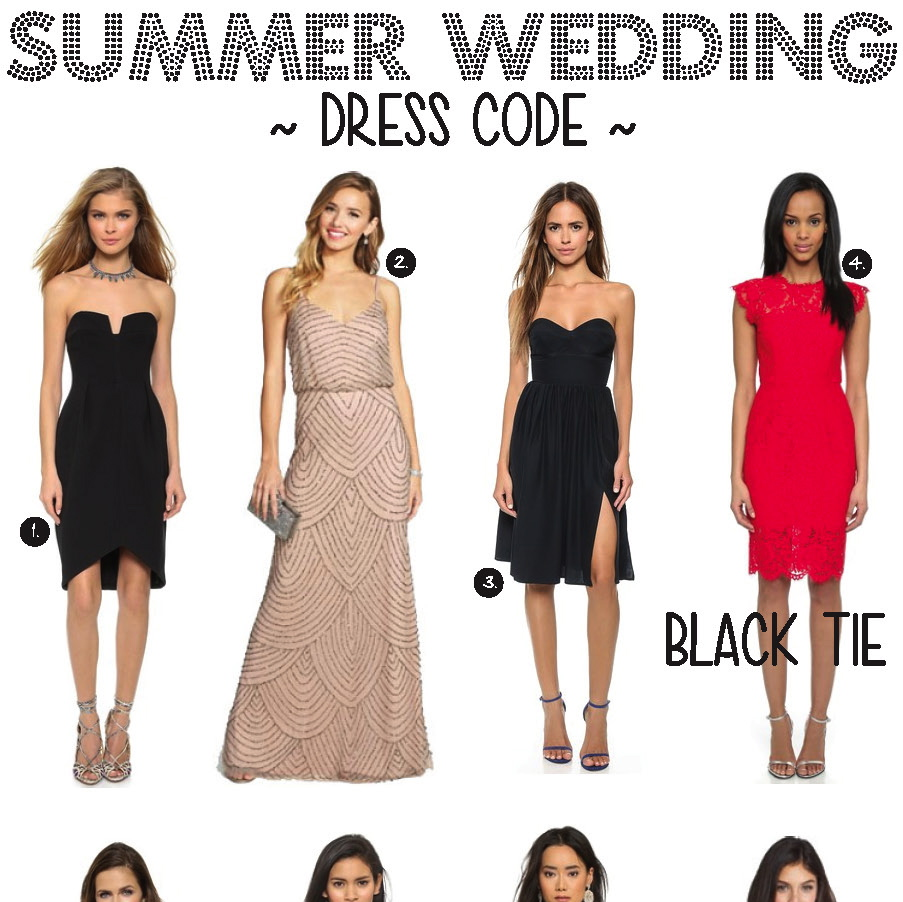 Summer Wedding Dress Code Gold Coast Girl
