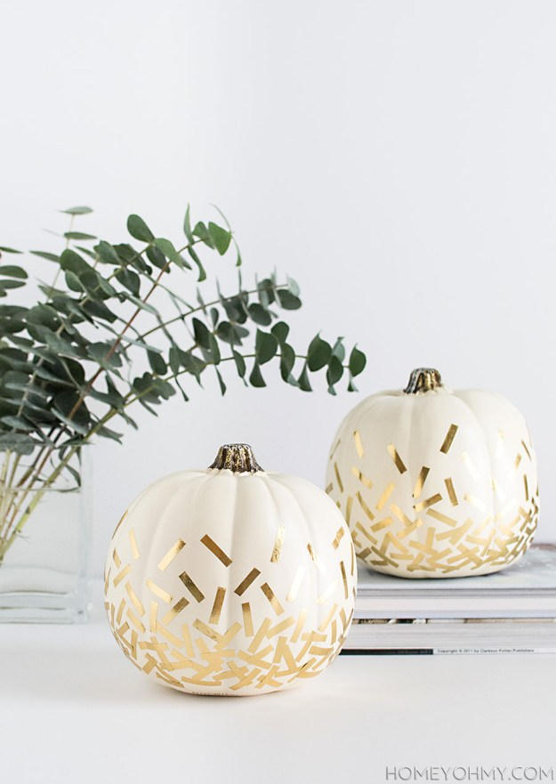 DIY pumpkin decorating ideas 6