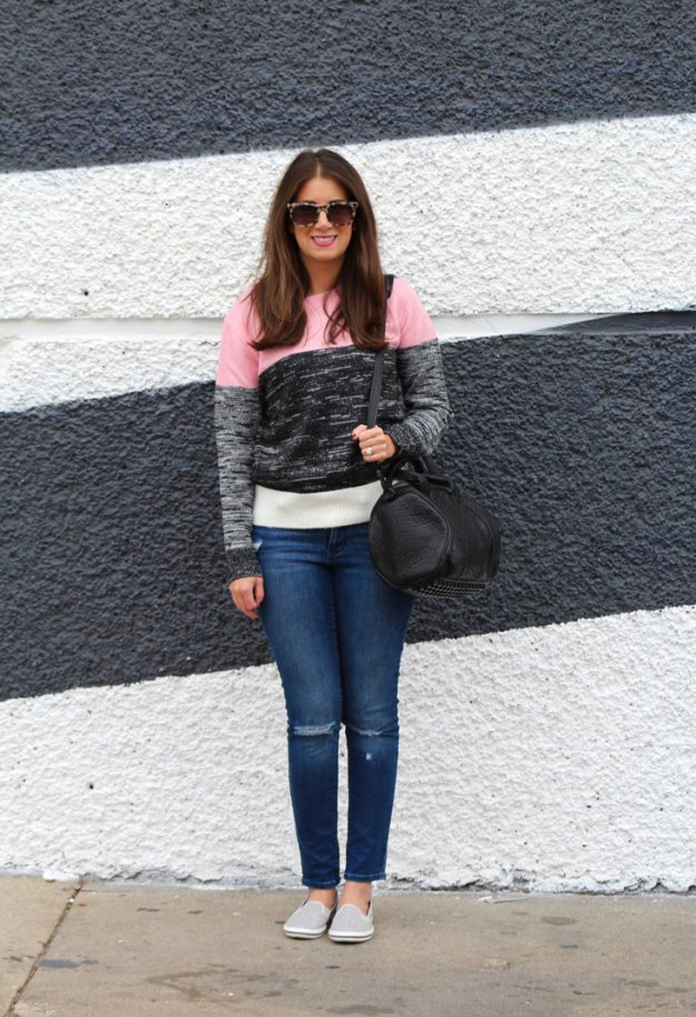 cozy sweater and keds 15