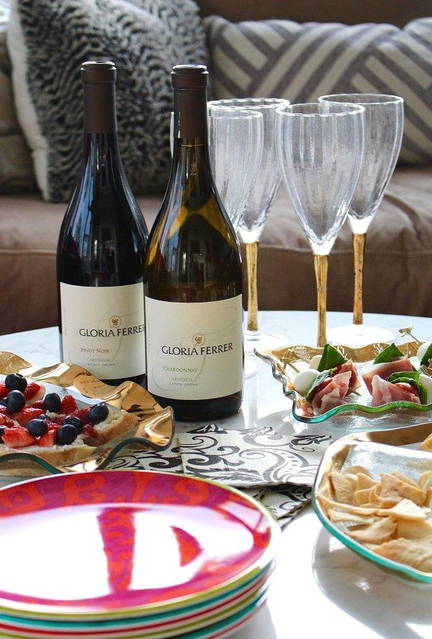 springtime wine party 6