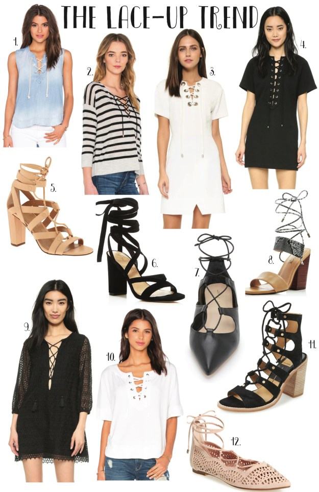 the lace-up trend