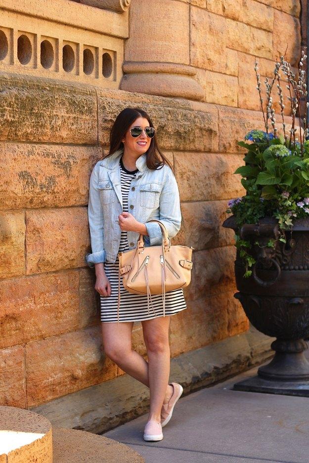 striped dress 2