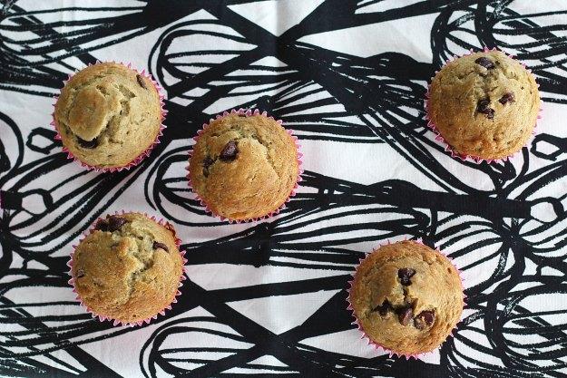 chocolate chip banana muffin recipe 7