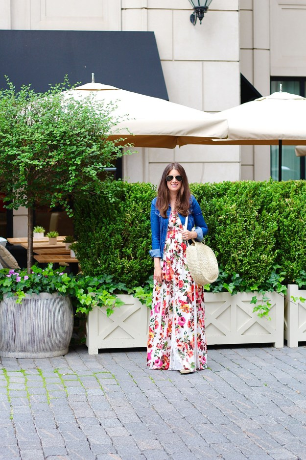 Waldorf Astoria Venus Floral Maxi Dress