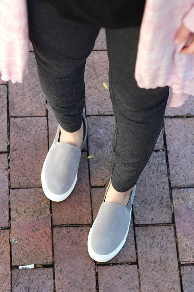 prAna grey leggings