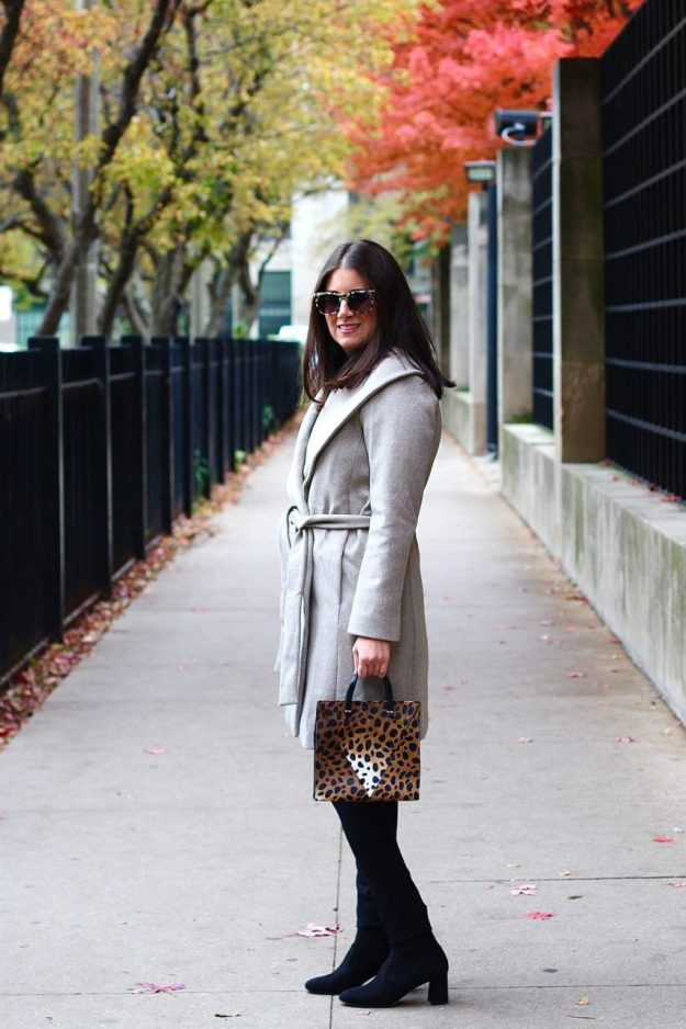 uk store reputation first new & pre-owned designer THE PERFECT WRAP COAT FOR FALL - GOLD COAST GIRL