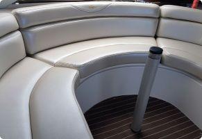 Pearl vinyl boat seating