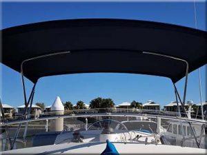 custom boat bimini cover