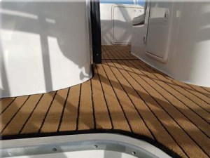 teak boat carpet