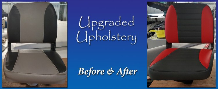 Before and After - Gold Coast Marine Upholstery