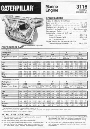 Cat 3116??  The Hull Truth  Boating and Fishing Forum