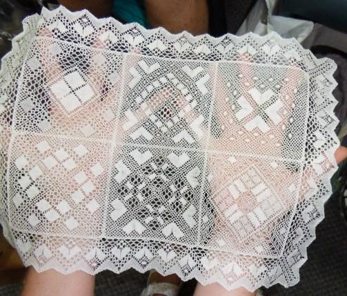 Beautiful handmade lace