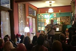 John Vanderslice performs on the hotels