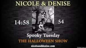 Join Nicole and Denise tonight as Moody Tuesday get spooky. We've got a line up ...