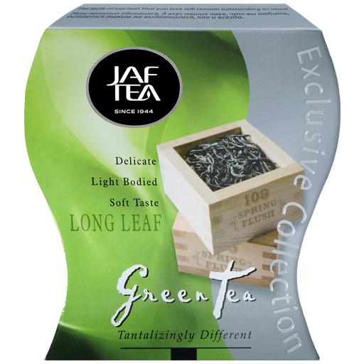 """JAFTEA (Джаф Ти)  зеленый чай """"Длинный лист"""" (Long Leaf) 100g"""
