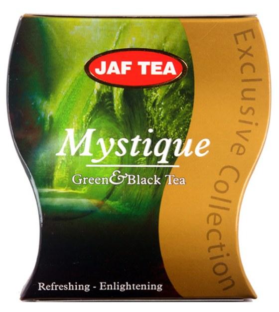"""JAFTEA (Джаф Ти)  черный+зеленый чай """"Мистик"""" (Mystique) 100g"""