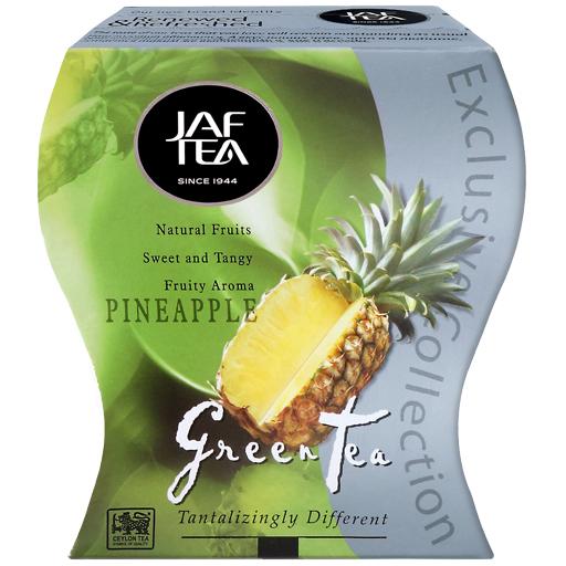 """JAFTEA (Джаф Ти)  зеленый чай """"Ананас"""" (Pineapple) 100g"""