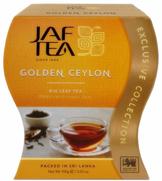 """JAFTEA (Джаф Ти)  черный чай """"Золотой Цейлон"""" (Golden Ceylon) 100g"""