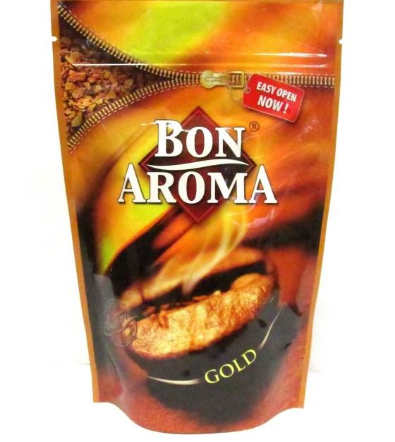 Bon Aroma Gold растворимый кофе , 150гр. , дой-пак с зип-замком