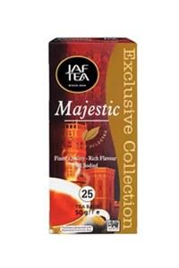 """JAFTEA (Джаф Ти)  черный чай """"Маджестик"""" (Majestic) 25пакетиков по 2г"""