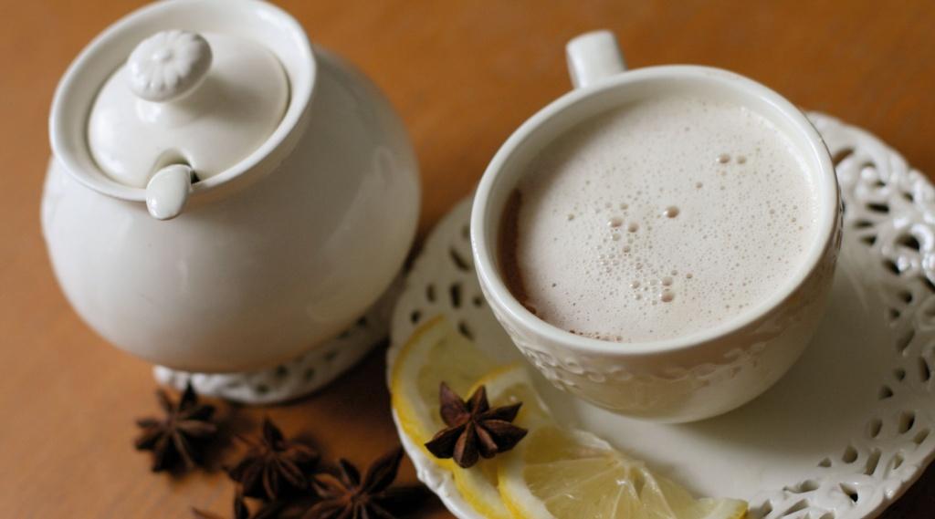 Рецепты с использованием чая. Английский «Яичный чай» (Custard Tea)
