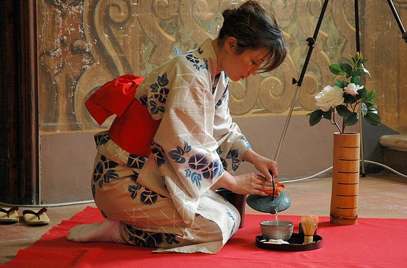 Чайные традиции Японии.