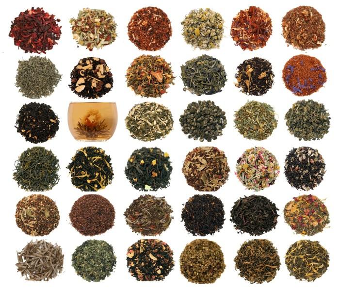 Типы, разновидности, сорта, марки чая