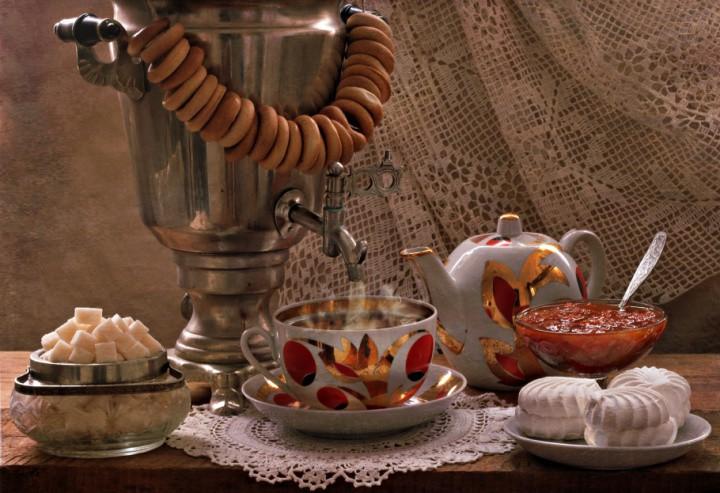 Чайные традиции России.