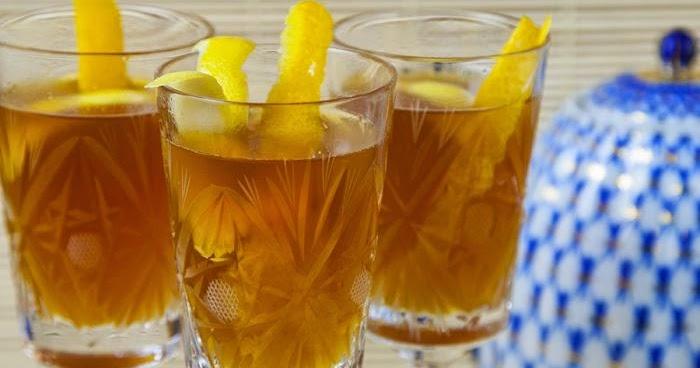 Рецепты с использованием чая. Чайный пунш с хересом